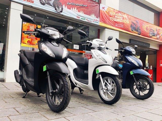 Giá xe Honda SH tăng phi mã, Vision vượt mốc 40 triệu đồng