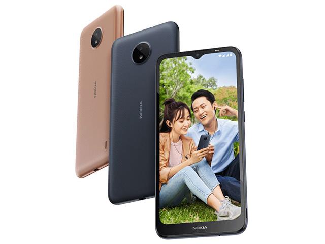Điện thoại giá rẻ Nokia C20 cập bến thị trường Việt