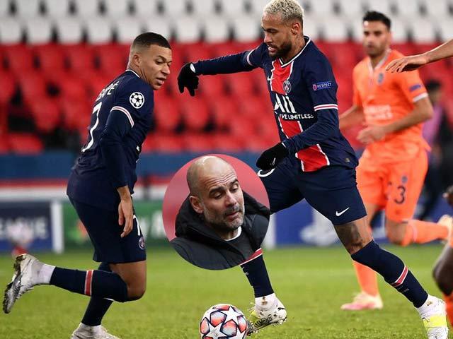 Pep Guardiola mất ngủ vì Neymar - Mbappe, tiết lộ đấu pháp Man City chọi PSG