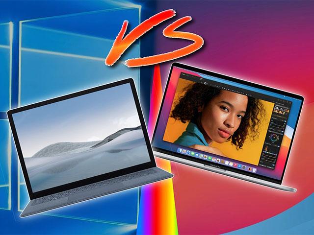 """MacBook Air bị """"dìm"""" trong quảng cáo Microsoft Surface 4"""