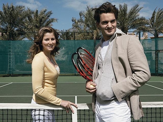 """Federer phải nhờ đô vật dắt đi """"tán gái"""", 15 phút đã có được mỹ nhân"""