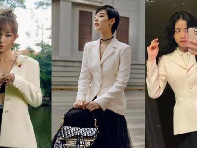 Cùng mặc áo Dior, Khánh Linh và Châu Bùi mix đồ cao tay hơn đại sứ thương hiệu Jisoo