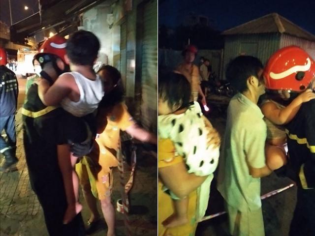 Giải cứu 24 người trong đám cháy chung cư ở Sài Gòn lúc nửa đêm