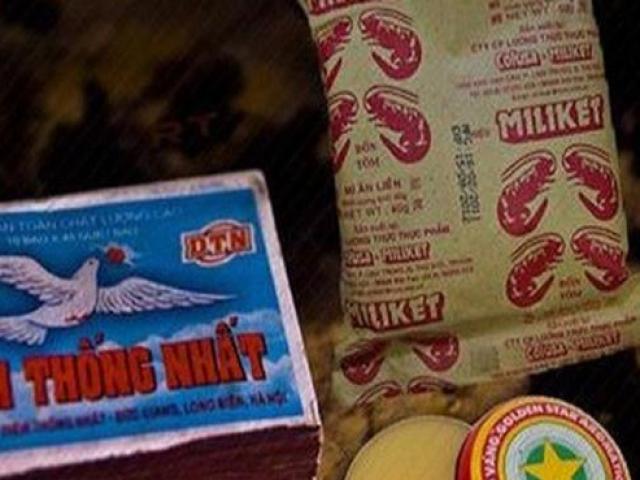 """4 sản phẩm Việt """"vang bóng 1 thời"""", bạn biết được bao nhiêu loại?"""