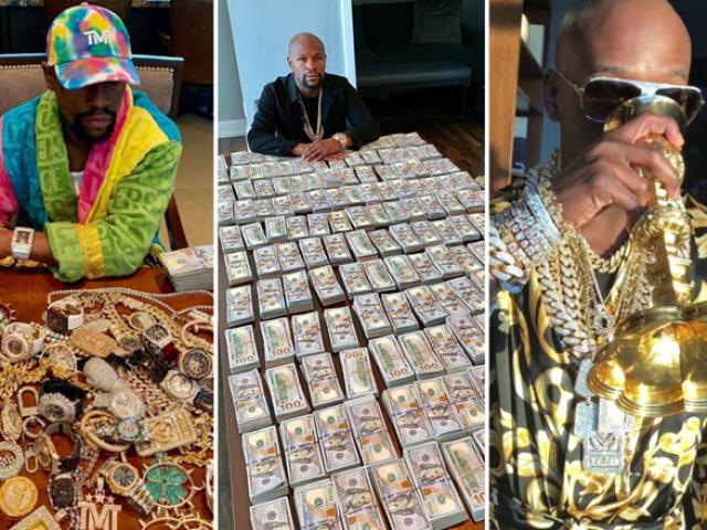 """Mayweather phải """"mãi võ"""" kiếm tiền, hành trình """"đốt sạch"""" tỷ đô"""