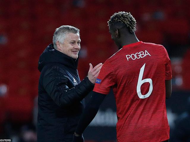 """Pogba tiết lộ thông điệp của Solskjaer giờ nghỉ giúp MU """"lột xác"""" ở hiệp hai"""