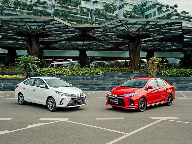 Giá xe Toyota Vios lăn bánh tháng 5/2021