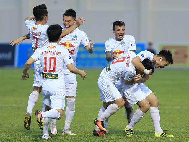Rực lửa vòng 12 V-League: HAGL quyết thắng chờ vô địch sớm giai đoạn 1