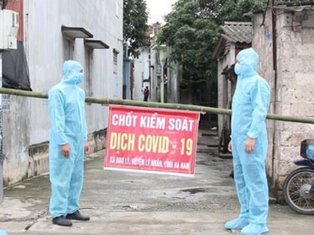 """Hà Nam ghi nhận thêm 2 trường hợp dương tính với SARS-CoV-2, liên quan đến ca """"siêu lây nhiễm"""""""