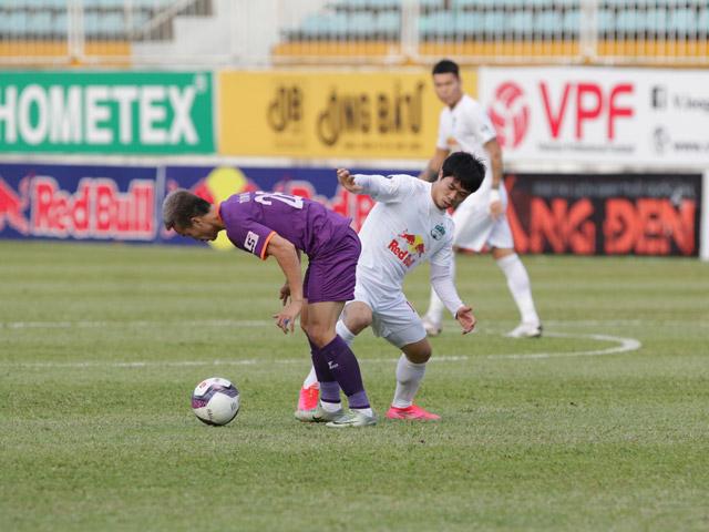 Trực tiếp bóng đá HAGL - Bình Dương: Đội khách có lần thứ hai gỡ hòa