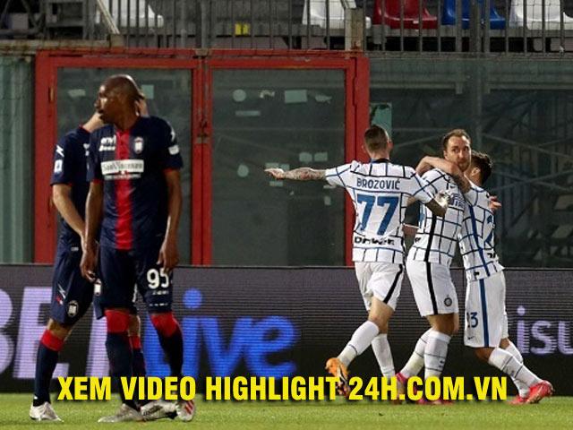 Video Crotone - Inter Milan: Hiệp 2 bùng nổ, thở phào phút 90+2