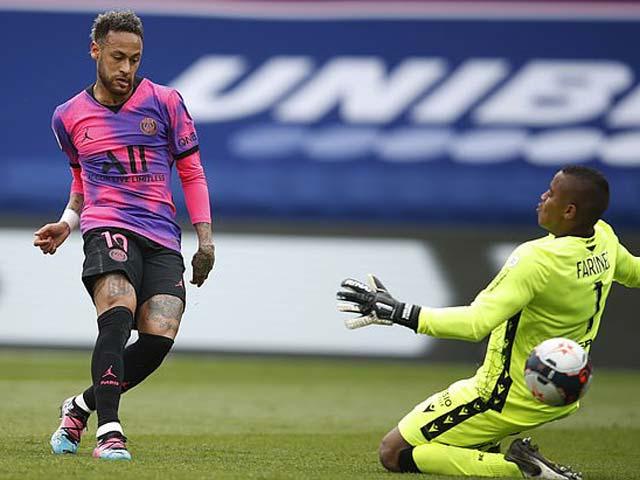 Video PSG - Lens: Neymar trừng phạt sai lầm, tận hưởng ngôi đầu