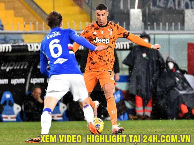Video Udinese - Juventus: Ronaldo ghi cú đúp chói lọi, ngược dòng ngoạn mục