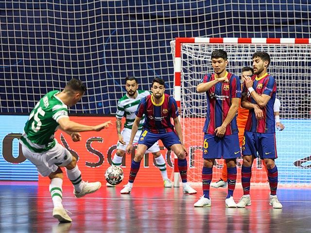 Barcelona cay đắng tuột ngôi vương châu Âu sau cuộc rượt đuổi kịch tính giải futsal