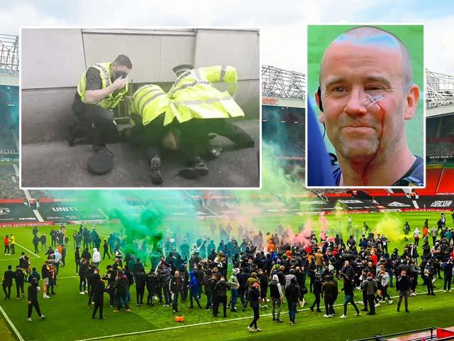 Tin mới nhất vụ fan làm loạn Old Trafford: Tạm giữ 1 fan cuồng MU, FA vào cuộc điều tra
