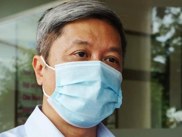 Đã có kết quả xét nghiệm SARS-CoV-2 của Thứ trưởng Bộ Y tế Nguyễn Trường Sơn