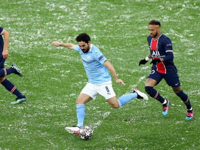 Trực tiếp bóng đá Man City - PSG: Cầu thủ PSG liên tục đá rắn (Hết giờ)