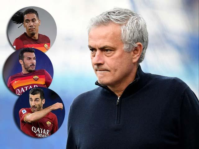 HLV Mourinho tái ngộ 4 trò cũ ở AS Roma, từng gây thù chuốc oán với ai