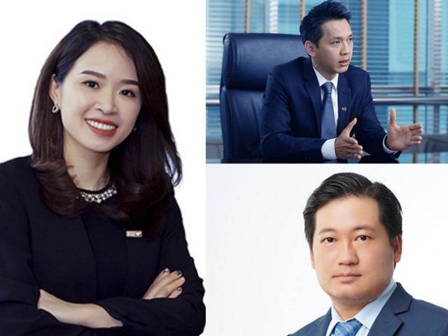 Những chủ tịch ngân hàng trẻ nhất Việt Nam giàu cỡ nào?