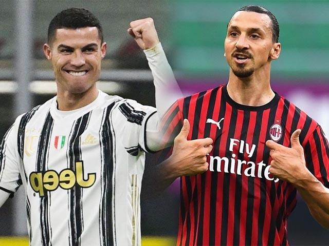"""Juventus đấu Milan tranh top 4, Mourinho """"xem giò"""" học trò mới tại vòng 35 Serie A"""