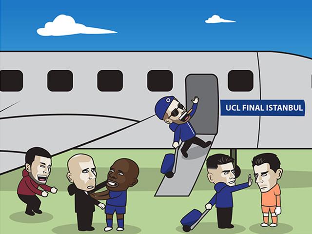 """Ảnh chế: Chelsea hạ """"vua C1"""" tiến vào trận chung kết toàn Anh"""