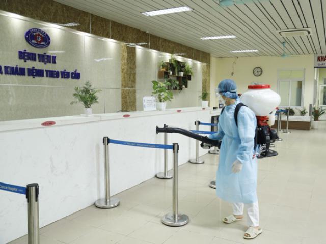 Bệnh viện K có 10 ca dương tính với SARS-CoV-2
