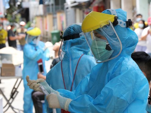 """Hà Nội ghi nhận 2 trường hợp dương tính với SARS-CoV-2, liên quan đến """"chùm ca bệnh"""" ở Thường Tín"""