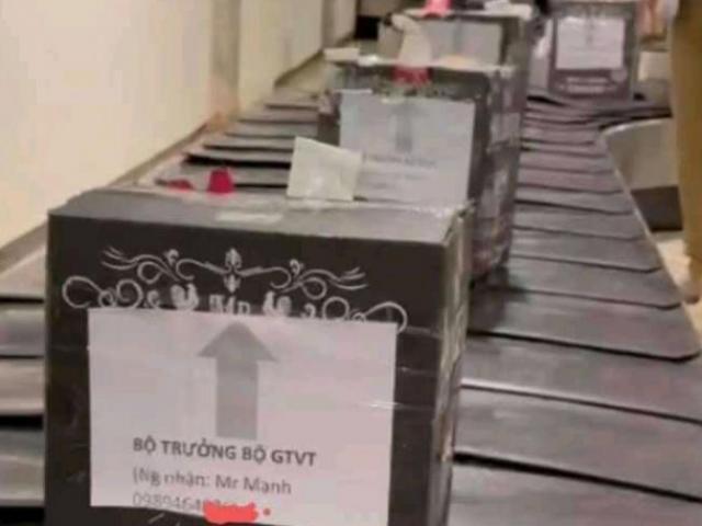 Tin tức 24h qua:Nhiều kiện hàng ghi tên Bộ trưởng Bộ GTVT gửi qua máy bay