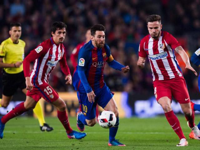 """Nhận định bóng đá Barcelona - Atletico Madrid: Quyết đấu cho ngôi đầu, Messi gặp """"mồi ngon"""""""