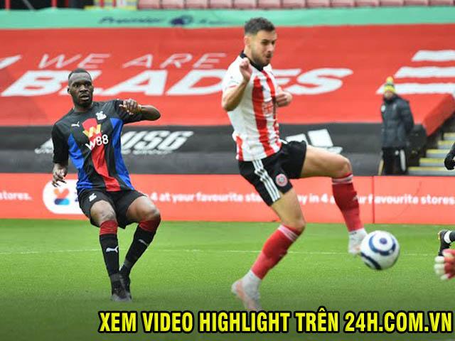 Trực tiếp bóng đá Sheffield United - Crystal Palace: Benteke mở tỷ số thần tốc