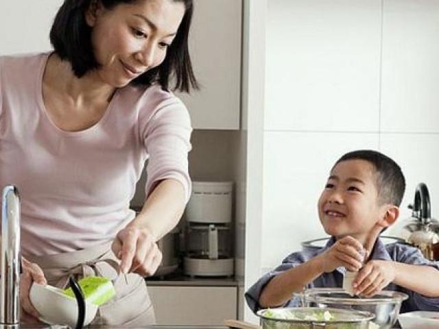 Biến khó chịu vì ở nhà trở thành niềm vui cho con