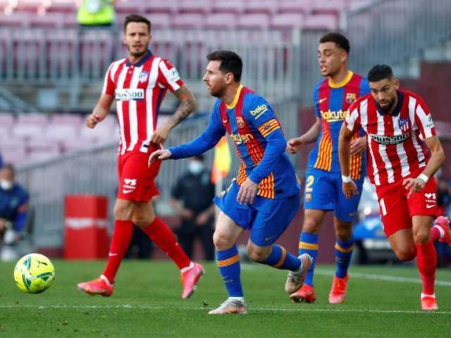 Cực nóng đua vô địch La Liga: Barca hòa Atletico, Real dễ lên ngôi đầu