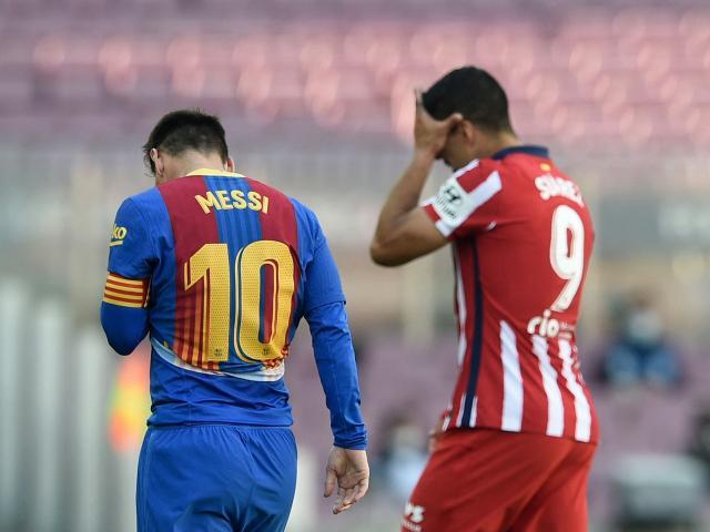 Barca hòa Atletico: Báo TBN lo hết cửa vô địch, tiếc vì Messi hụt siêu phẩm