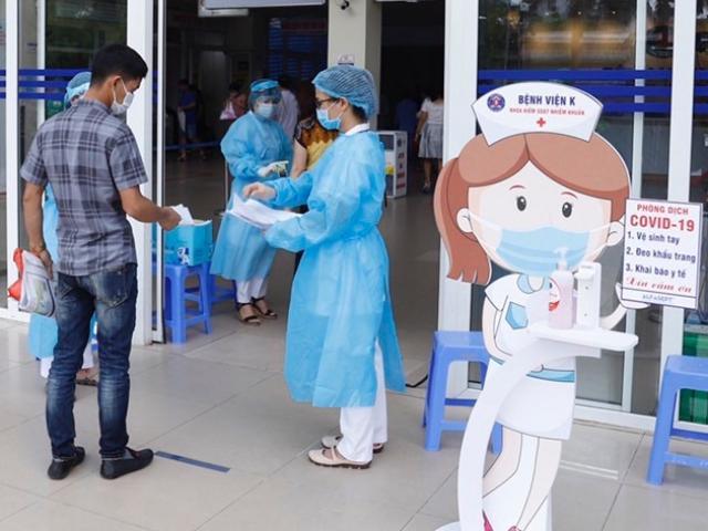 Kết quả xét nghiệm SARS-CoV-2 của 2.400 người tại Bệnh viện K