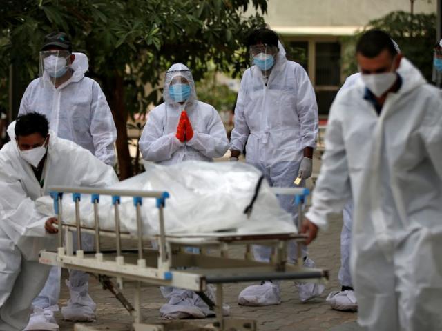Ngày thứ hai liên tiếp Ấn Độ ghi nhận số ca tử vong vì Covid-19 ở mức hơn 4.000