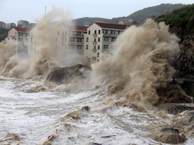 """Trung Quốc """"ngấm đòn"""" nước dâng cao ở vùng ven biển"""