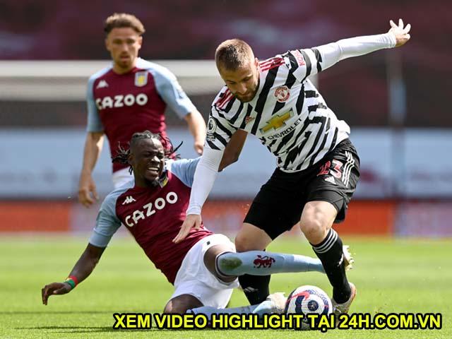 Video Aston Villa - MU: Hiệp 2 bùng nổ, ngược dòng mãn nhãn