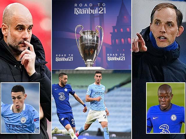 """Nghi vấn Man City thua Chelsea vì """"giấu bài"""", chờ phục thù chung kết Cúp C1"""