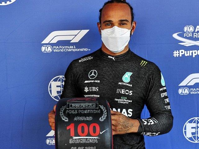 Đua xe F1 - Đua phân hạng Spanish GP: Hamilton đoạt pole thứ 100