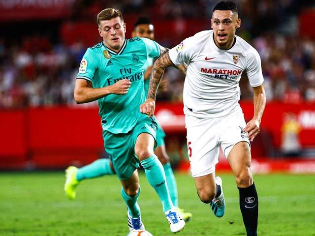 Trực tiếp bóng đá Real Madrid - Sevilla: Phút bù giờ kịch tính (Hết giờ)