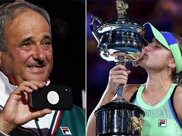 """Tay vợt nữ vô địch Grand Slam cho HLV là bố mình """"nghỉ hưu"""""""