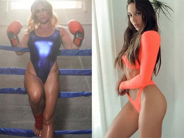 Kiều nữ UFC mặc bikini chơi Boxing, mỹ nữ đô vật diện nội y sặc sỡ