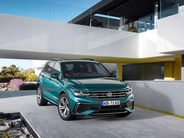 Volkswagen Tiguan Allspace thế hệ mới chốt ngày ra mắt toàn cầu