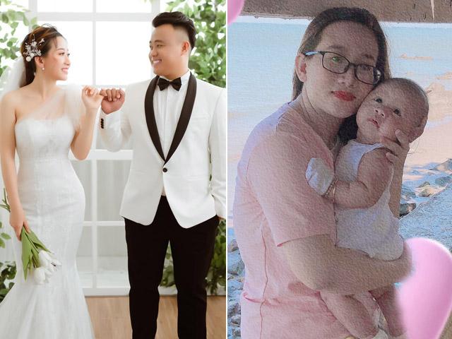 Cô gái hoãn cưới 3 lần, con 3 tháng vẫn chưa được làm cô dâu vì dịch COVID-19