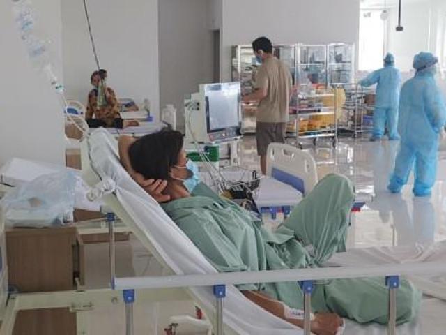 Cận cảnh bên trong khu điều trị gần 400 bệnh nhân COVID-19 và trường hợp F1