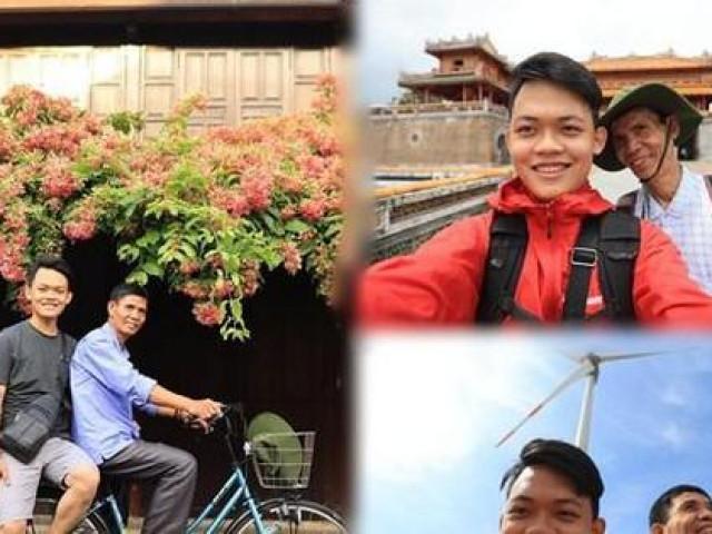 """Hành trình xuyên Việt xúc động của chàng trai 9x cùng """"bạn của ông nội"""""""