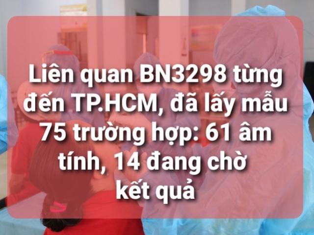 TP.HCM: Thêm 20 người tiếp xúc ca nhiễm COVID-19 ở Đà Nẵng