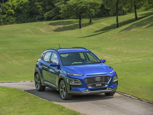 Giá xe Hyundai Kona lăn bánh tháng 5/2021