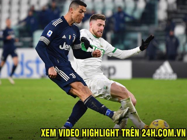 Nhận định bóng đá Sassuolo - Juventus: Ở thế chân tường, chờ Ronaldo giải cứu
