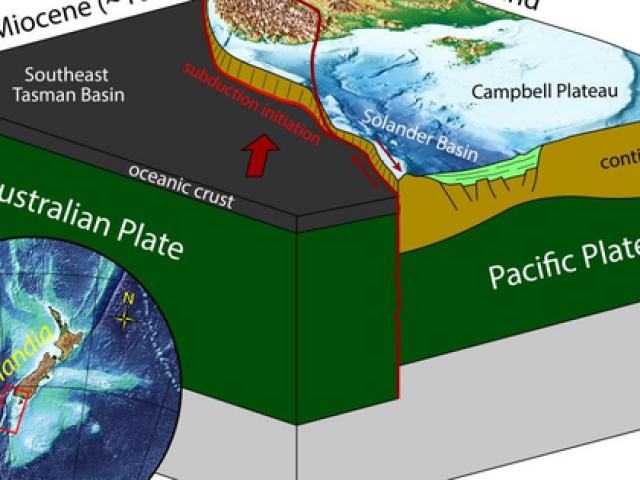 """Trái Đất có """"lục địa thứ 8"""", đang nuốt đại dương"""
